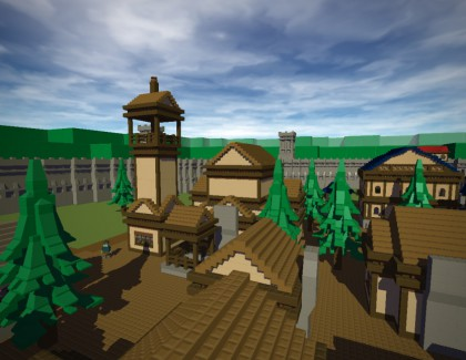 Games Like Minecraft: Blockland