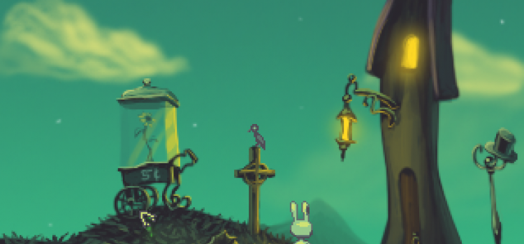 """""""^_^"""": A Charming Indie Adventure Title By Ben Chandler"""
