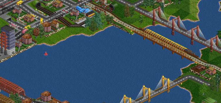 Game of The Day #59: Transport Tycoon Deluxe