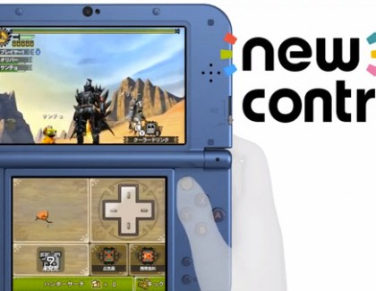 My take on the New 3DS and New 3DS XL control stick.
