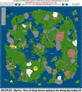 Wurm Online: Map of Freedom Server