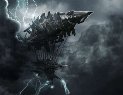 Steampunk Airship Battle Awesomeness: Guns of Icarus Online