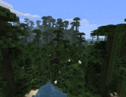 Minecraft From The Top – Episode 12 – Searching For A Jungle!