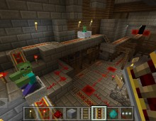 Minecraft Portable Edition: Redstone Update