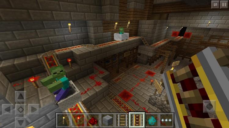 Minecraft Portable Edition: Redstone Update